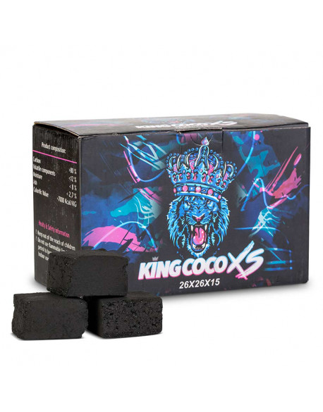 CHARBONS KING COCO FLAT 1KG