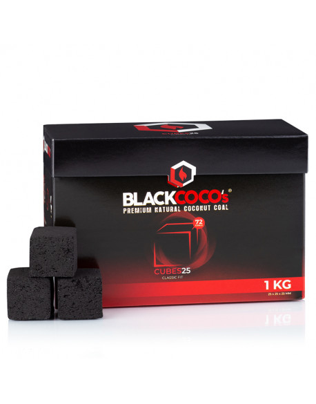 CHARBONS BLACK COCO 25mm 1kg