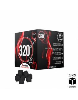 Charbons El-Badia 320° CUBES 26mm 1Kg