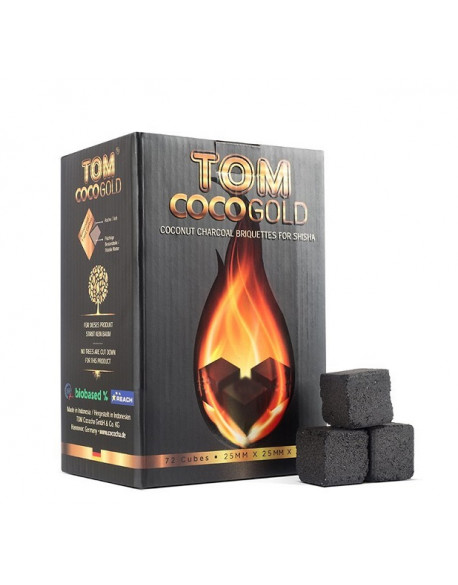 Charbons Tom Cococha Gold 1KG